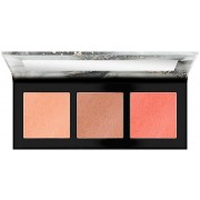 LUMINICE highlight&bronze glow palette #010-rose vibes only
