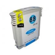 Atramentová kazeta kompatibilná s HP no. 88XL cyan (19ml)