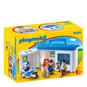 Playmobil 1-2-3 meeneempolitiestation 9382