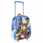 Marvel The Avengers trolley/reiskoffer rugtas voor kinderen