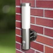 vidaXL Nástěnné vodotěsné svítidlo s pohybovým čidlem - 2 ks
