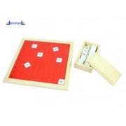 Montesori Pitagorina tabla sa brojevima 100 kvadrata