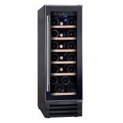 Vitrina de vinuri incorporabila Hoover HWCB 30, 58 l, Clasa B, 19 sticle, 87 cm, Usa neagra 34900423