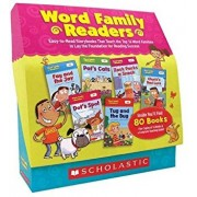 Word Family Readers Set: Easy-To-Read Storybooks That Teach the Top 16 Word Families to Lay the Foundation for Reading Success, Paperback/Liza Charlesworth