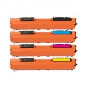 HP 130A (CF530, CF531, CF532, CF533) voordeelbundel (huismerk inktcartridges)