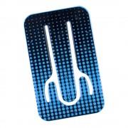Suport telefon flexibil Puncte Albastre, TG by AleXer, 8190143, albastru, plastic, metal, saculet si laveta incluse