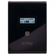 UPS nJoy Isis 1500L Line Interactive 1500VA AVR Black Case + Gray Power Button