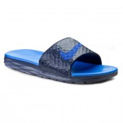 Чехли NIKE - Benassi Solarsoft Slide 2 705474 440 Midnight Navy/Lyon Blue