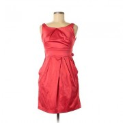Teeze Me Cocktail Dress - A-Line: Red Solid Dresses - Used - Size 5