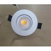 SPOT LED INCASTRAT ALB FIX Ø68x35 3W 230V LUMINA CALDA