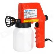 pistola de pintura sin aire electrica portatil - blanco + rojo (enchufe de la UE / 600 ml)