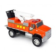 Tonka Toughest Minis Orange Power Dept Cherry Picker Truck
