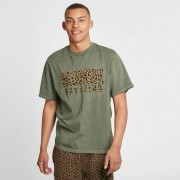 Billionaire Boys Club leopard fill straight logo tshirt