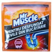 Mr Muscle granule pentru desfundat tevi 50 g