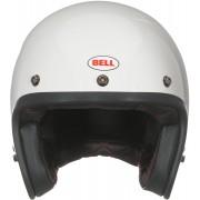 Bell Custom 500 DLX Solid Jet hjälm S Vit