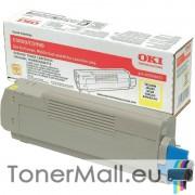Тонер касета OKI 43324421 (Yellow)