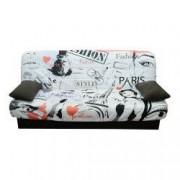 Canapea Hanna Fashion 3 locuri extensibila si lada de depozitare dimensiuni 190 x 90 cm