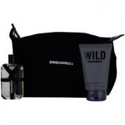 Dsquared2 Wild lote de regalo III eau de toilette 50 ml + gel de ducha 100 ml + bolsa para cosméticos