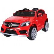 Masinuta electrica cu roti din cauciuc Mercedes Benz A45 AMG SUV Red
