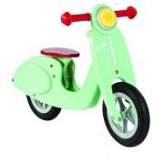 Janod ® Bici senza pedali - Vespa in legno, mint - turchese