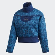 Adidas Куртка для бега Sweater adidas by Stella McCartney Синий 38
