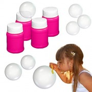 Toy Cubby Adorable Bubbly Mini Bottles Bubbles with Wand - 24 Pcs