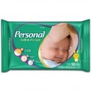 Toalhas Umedecidas Persoal Baby Fórmula Suave 20cm X 15cm Com 50 Unidades