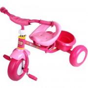 Fémvázas tricikli - rózsaszín - Járművek