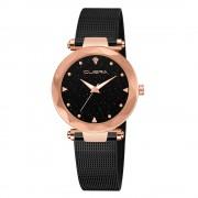Ceas femei Cuena clasic luxury Rose black