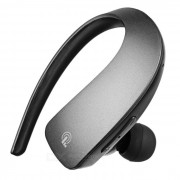 Q2 estereo Bluetooth auricular gancho solo auricular w / mic? tecla tactil - gris