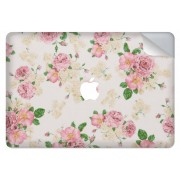Rozen design sticker voor de MacBook Pro 13.3 inch