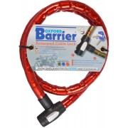 Oxford Barrier Bloqueo de cable Rojo 150 cm