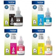 Brother BT5000 BT6000BK Genuine Ink Bottles All colour For Brother T300 T500 T700W T800W Printers
