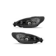Farol Peugeot 206 00 01 02 03 04 05 06 Máscara Negra Foco Duplo