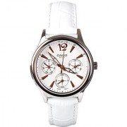 Casio Enticer White Dial Womens Watch - Ltp-2085L-7Avdf (A863)