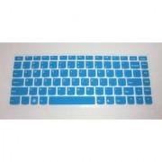 BingoBuy Semi-Blue High Quality Silicone Keyboard Protector Skin Cover for IBM Lenovo IdeaPad U300 U300s U310 U400 U
