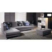 items-france KANSAS EXPO - Canape contemporain tissus gris 300x200