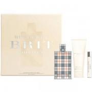 Burberry Brit Комплект (EDP 100ml + EDP 7.5ml + BL 75ml) за Жени