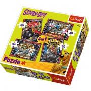 Trefl Puzzle Slagalica 4u1 Scooby Doo (34257)
