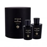 Acqua di Parma Sandalo подаръчен комплект EDP 100 ml + душ гел 200 ml unisex