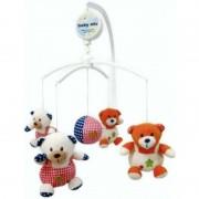 Carusel muzical Bears Family Baby Mix