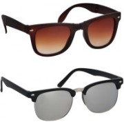 Spexra Wayfarer, Clubmaster Sunglasses(For Boys & Girls)