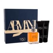 Giorgio Armani Emporio Armani Stronger With You подаръчен комплект EDT 100 ml + душ гел 2x 75 ml за мъже