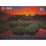 Super Big Ben 2000 Piece Puzzle Born Lakes In The White Cloud Range, Id