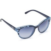 Gio Collection Cat-eye Sunglasses(Blue)