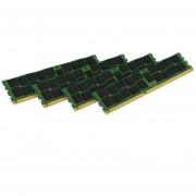 Kingston Technology ValueRAM 64 GB Kit Of 4 (4x16 GB Modules) 1333MHz DDR3 PC3-10600 ECC Reg CL9 DIMM DR X4 1.35V (KVR13LR9D4K4/64)