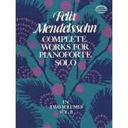 Felix Mendelssohn Complete Works for Pianoforte Solo, Vol. II: 002