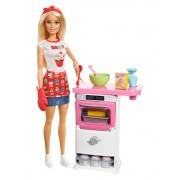 Papusa Barbie Bakery Chef