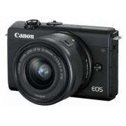 Canon EOS M200 Kit schwarz + EF-M 15-45 IS STM