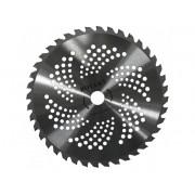 Disc cosire pentru motocoasa, dinti vidia, 255 x 25,4 mm